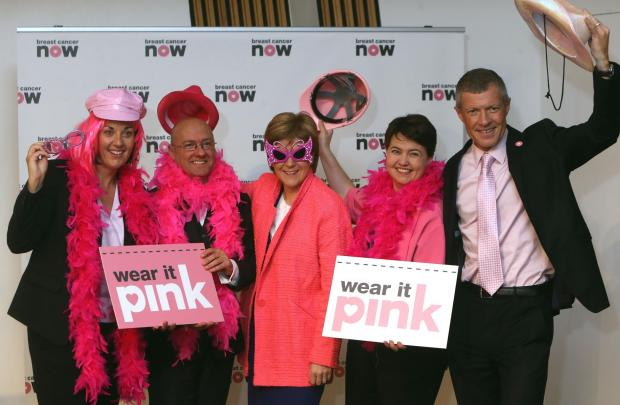 Breast Cancer support from political leaders