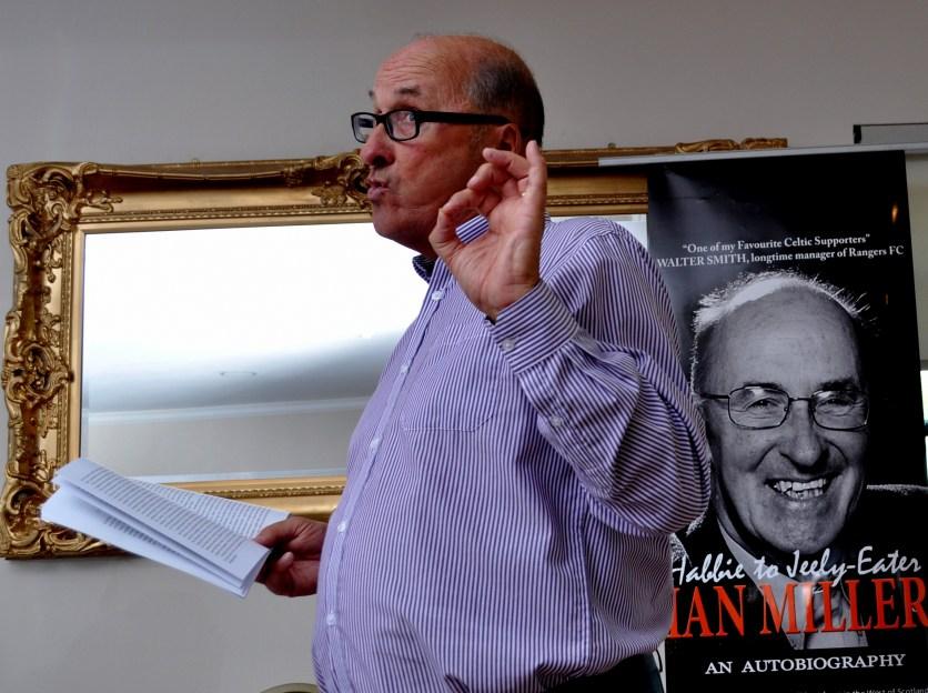 Miller Ian at book launch