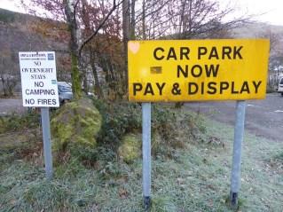 Arrochar parking