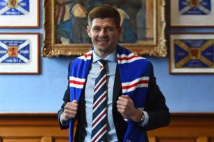 Gerrard Stevie as Rangers manager