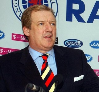 Soccer - Rangers press conference - Murray Park