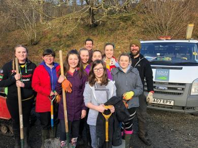 Volunteer activities in the National Park 2