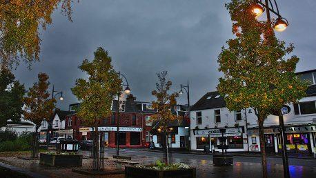 Balloch on an autumn evening pic by Bruce Biddulph