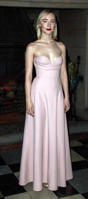 Mary Queen of Scots Scotland Premiere Edinburgh Castle-Saoirse Ronan