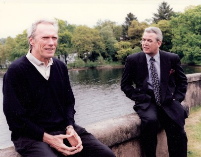 Bill with Clint Eastwood at Cameron House