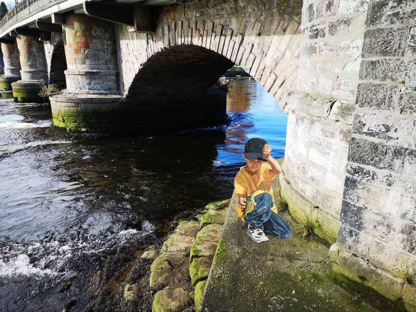 fishing at leven
