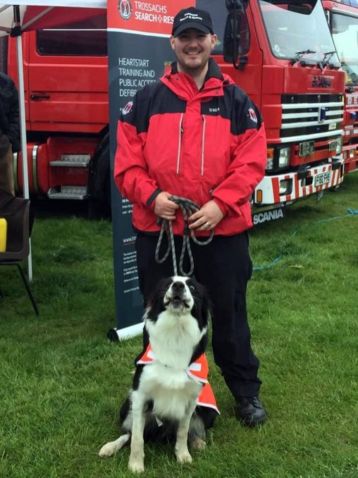 Endrick Trossachs Heart start.jpg search and rescue dogs