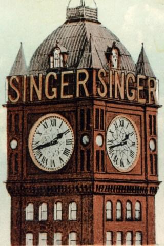 Singer clock 2