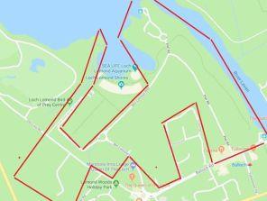 Drumkinnon Woods map