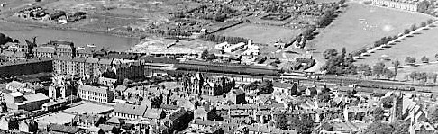 Dumbarton Central from the air.jpg 2
