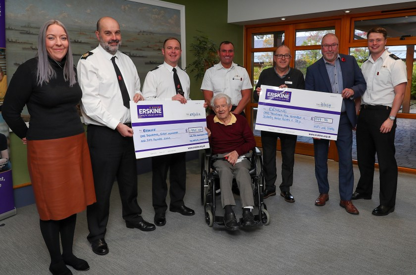 HMNB Clyde staff dig deep for local charity