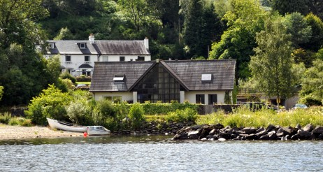 Inverbeg pictured from Loch Lomond