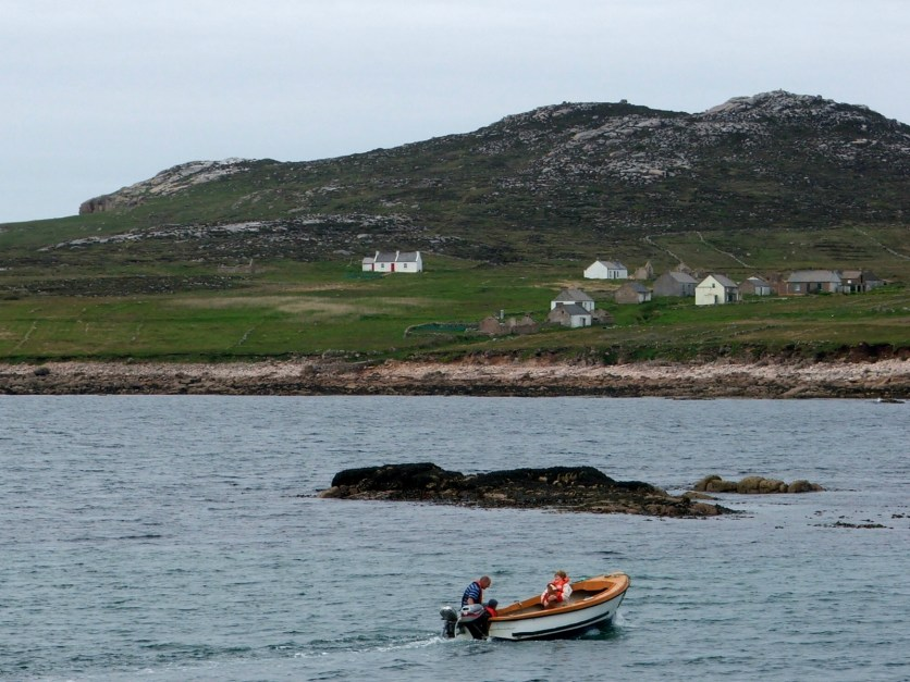 Don 2 - boating at Owey Island off Kincasslagh in Donegal