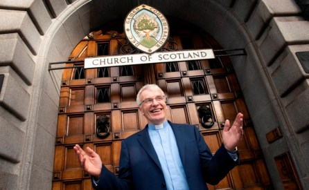 "Tuesday 9th of October 2018: Edinburgh Scotland. The Moderator Designate for 2019-20 is Rev Colin Sinclair. A Stirling University economics graduate who spent three years living out of a car in Zambia has been chosen to be Moderator of the Church of Scotland's General Assembly for 2019. Rev Colin Sinclair, who is the minister for Palmerston Place Church in Edinburgh, will take on the year-long role of ambassador for the Church of Scotland in May 2019 at the General Assembly, succeeding the 2018-19 Moderator Rt Rev Susan Brown. He says: ""I am honoured to be selected for this opportunity to represent the Church of Scotland nationally and internationally. ""It will be a pleasure to encourage church members in their faith and to see the impact of their faith in communities across our country. ""I have thoroughly enjoyed being a parish minister and despite the challenges we face I believe the Christian Faith is still relevant to Scotland. ""Our message is still Good News and it still changes lives."" Colin grew up on the south side of Glasgow, the second son of Alex and Isobel Sinclair, who were ""occasional churchgoers."" The family had an international outlook as his father had been a District Commissioner, first in Palestine and then in The Gambia, before returning to Scotland and working as a lecturer in management at Strathclyde University. It was as a pupil at Glasgow Academy, that Colin first became interested in the Christian faith. To escape getting into trouble after a prefect saw him taking the wrong staircase, Colin dodged into a darkened room where a Scripture Union camp video was showing."