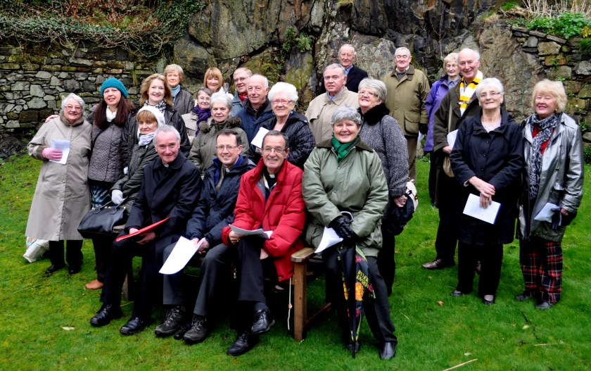 Churches Dumbarton Churches Together celebrate St Patrick's connection with Dumbarton Rock
