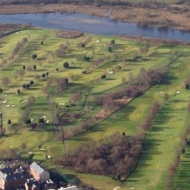 Dumbarton Golf Club from the air