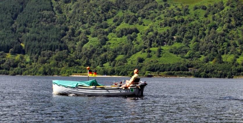 Fair 20 Gone fishing in glorious sunshine on Loch Lomond