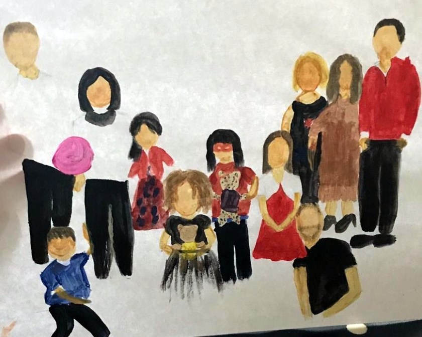 Jane family painting 1