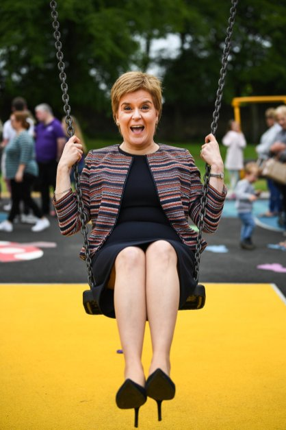 jEFF - STURGEON ON A SWING