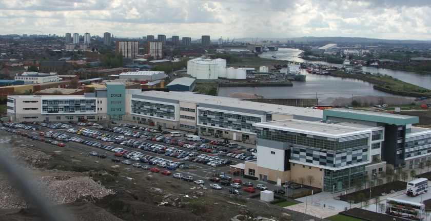 Clydebank Collefe from Titan