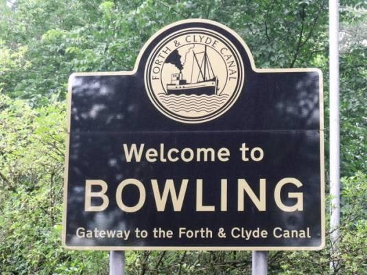 Scotts Bowling sign
