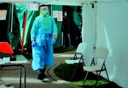 virus test centre