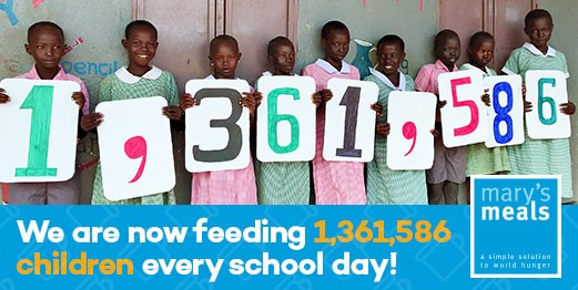 MARY'S MEALS: YOU CAN HELP TO SHAPE THEIR MISSION