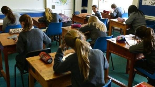 pupils in classroom 10