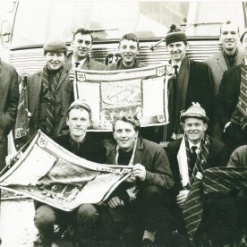 Celtic supporters from the Keep in 1967