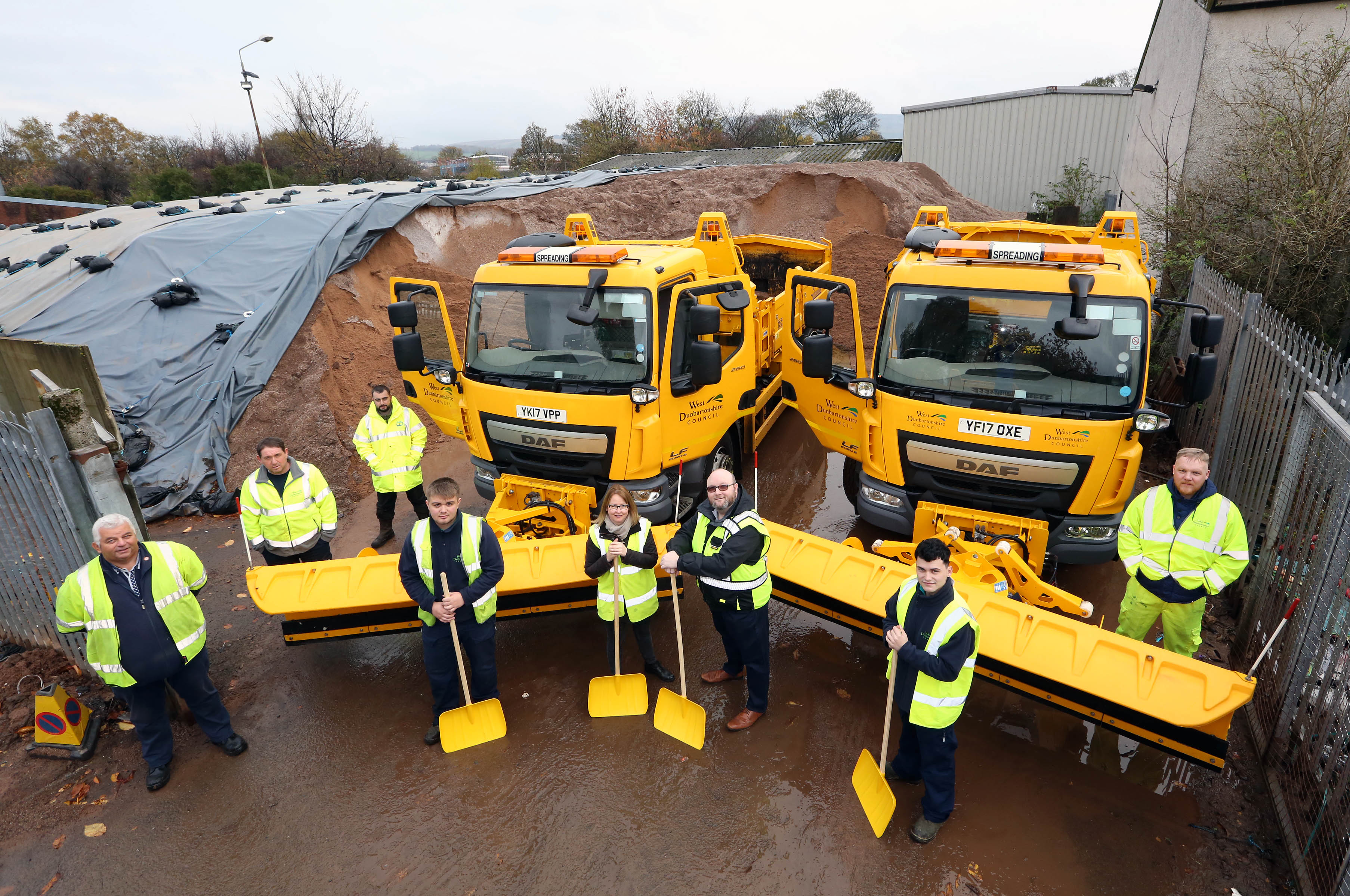 Residents name gritters as Council sets itself for snow and ice this winter