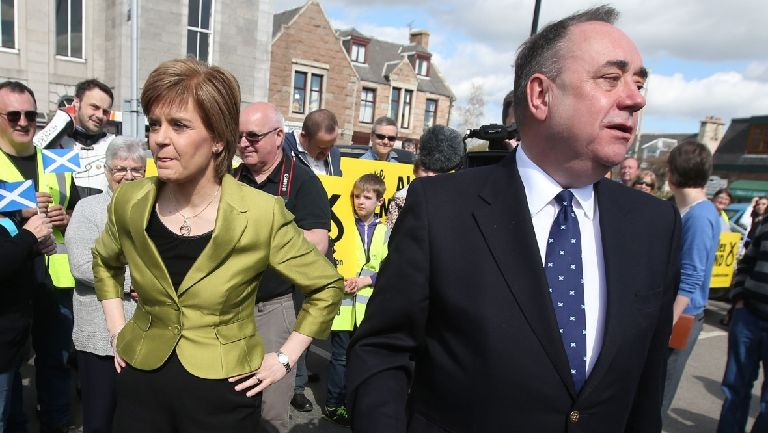 BRIAN WILSON'S COLUMN: SALMOND, STURGEON AND THE 'DUTY OF CANDOUR'