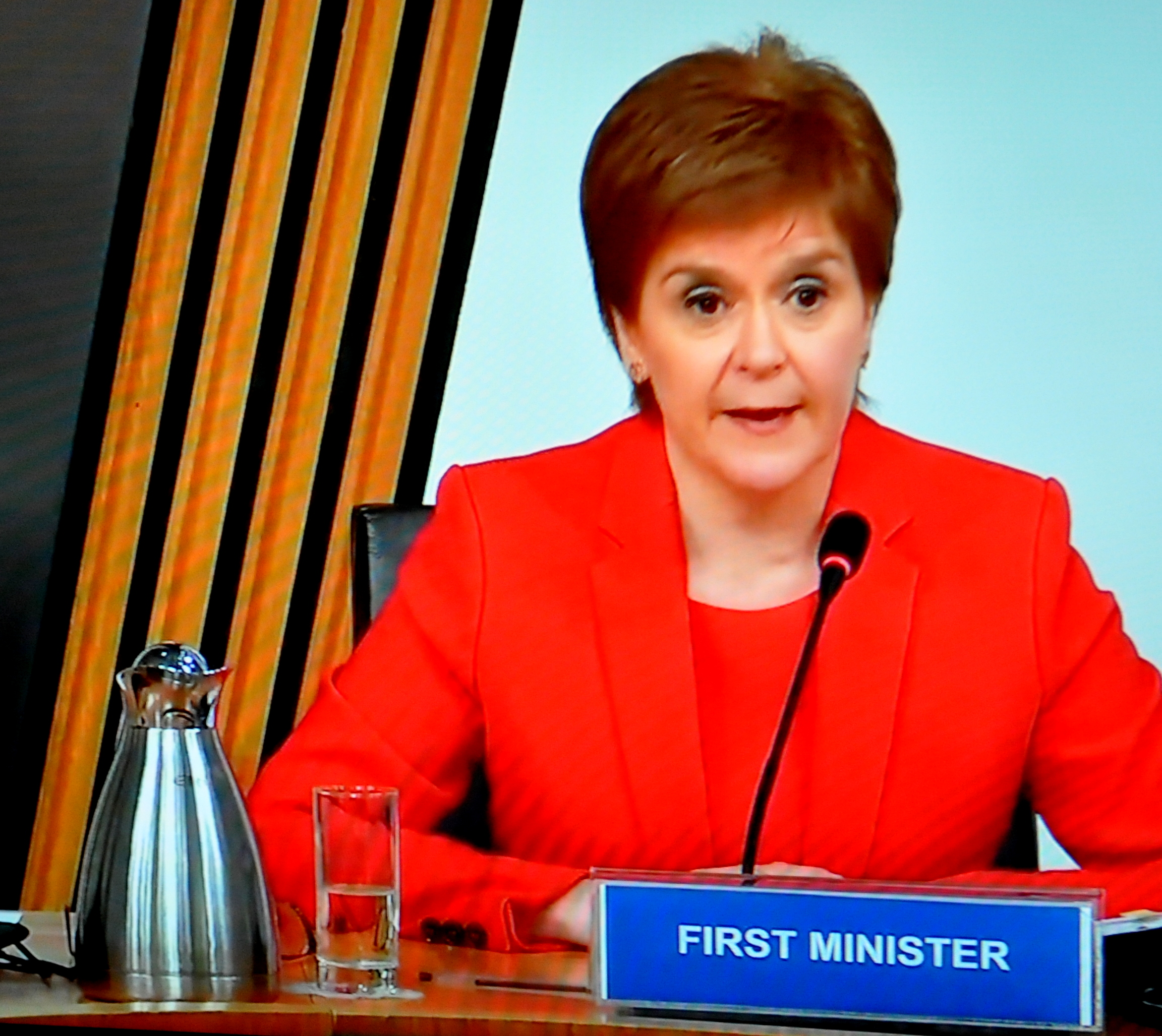 DUMBARTON MSP QUESTIONS FIRST MINISTER AT SALMOND INQUIRY