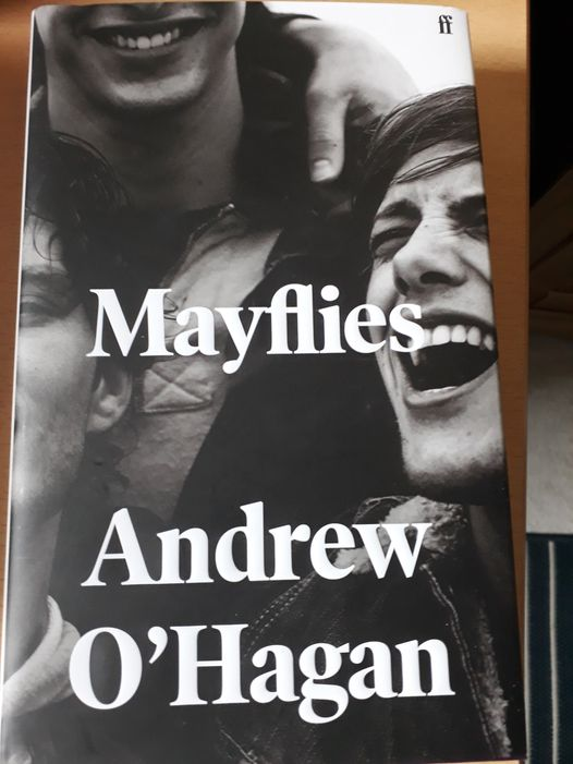MAYFLIES: NEW BOOK FROM ANDREW O'HAGAN: ORDER TODAY FOR WORLD BOOK DAY
