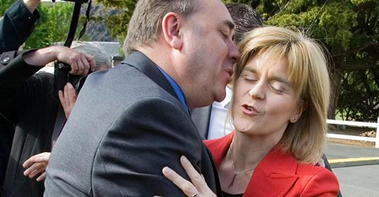 POLITICS NOT PUGILISM: Ex-FM tells Sturgeon and Salmond to stop fighting