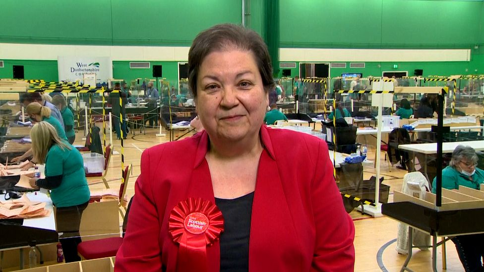 ELECTION RESULTS: JACKIE BAILLIE AND MARIE MCNAIR WIN THE LOCAL SEATS IN THE SCOTTISH PARLIAMENT