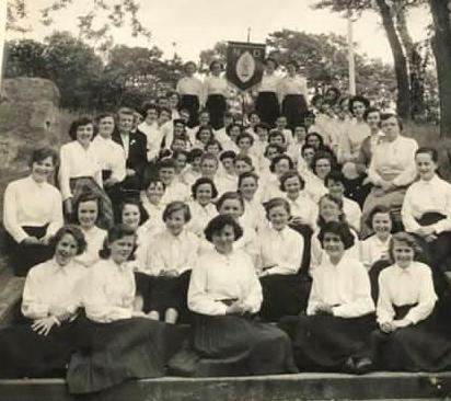 DOWN MEMORY LANE: NOTRE DAME GIRLS WERE URGED TO REJOICE ALWAYS