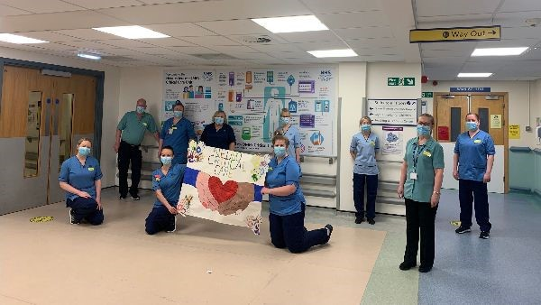 Helping Hands: critical care nurse pens touching poem in recognition of colleagues for International Nurses Day