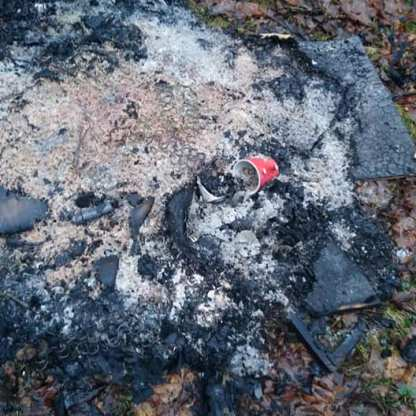 litter at stoneymullin