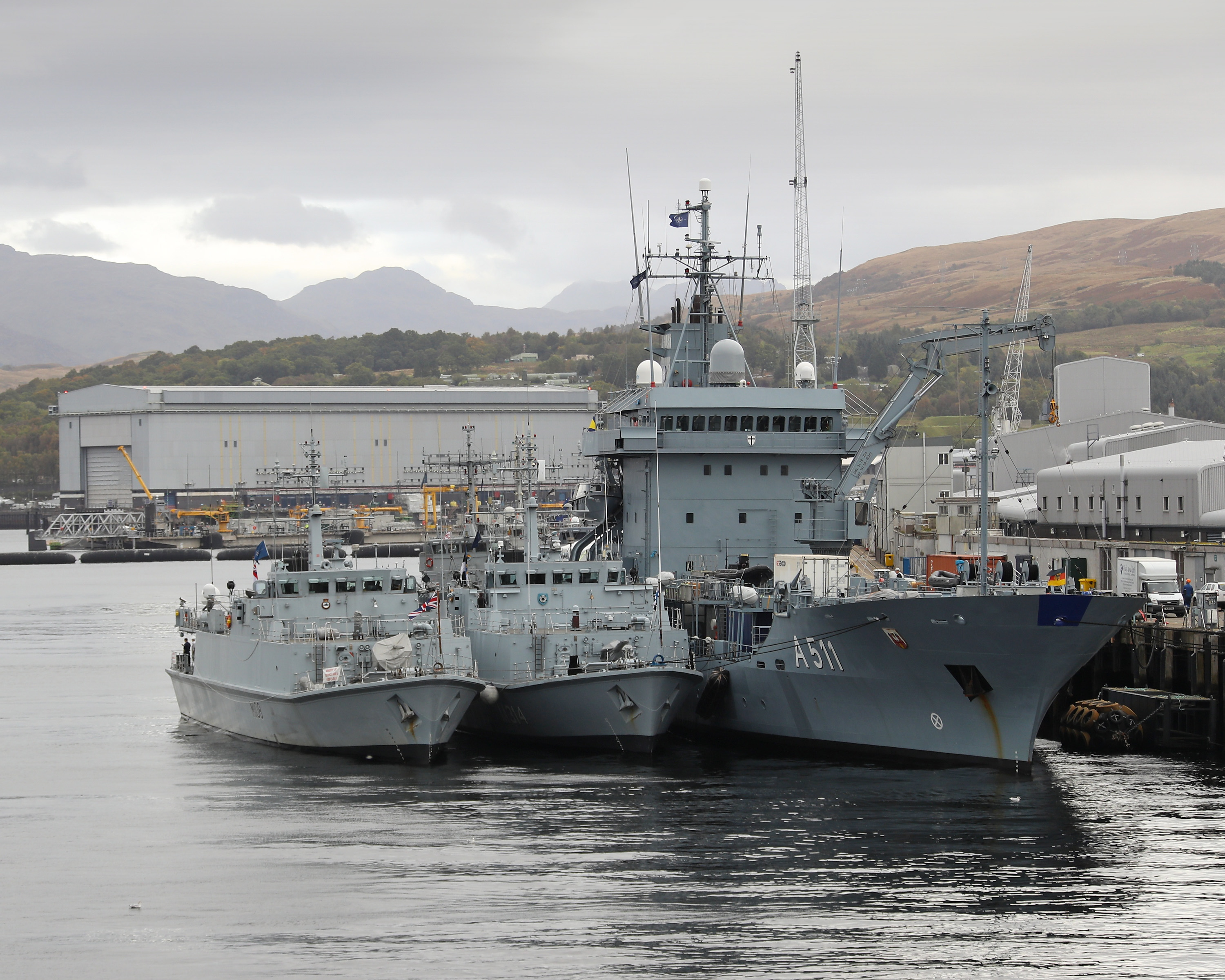 WESTMINSTER COMMITTEE EXAMINATION OF MILITARY BASES IN SCOTLAND TAKES OFF