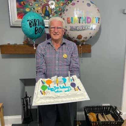Lawrie Colin 75th birthday