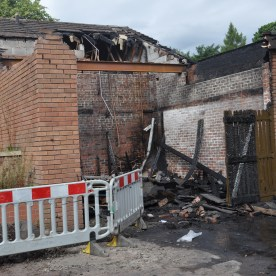 fire at Kirktonhill 3