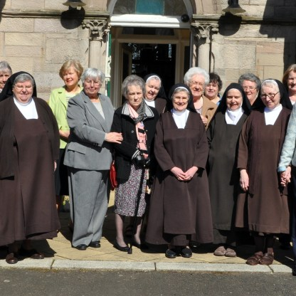 Clerkhill Carmel friends of the nuns attend a meeting of the Avila group at Clerkhill