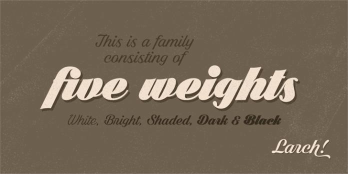 Bright Larch Font