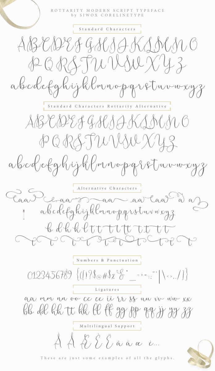 Rottarity Feminine Script Font