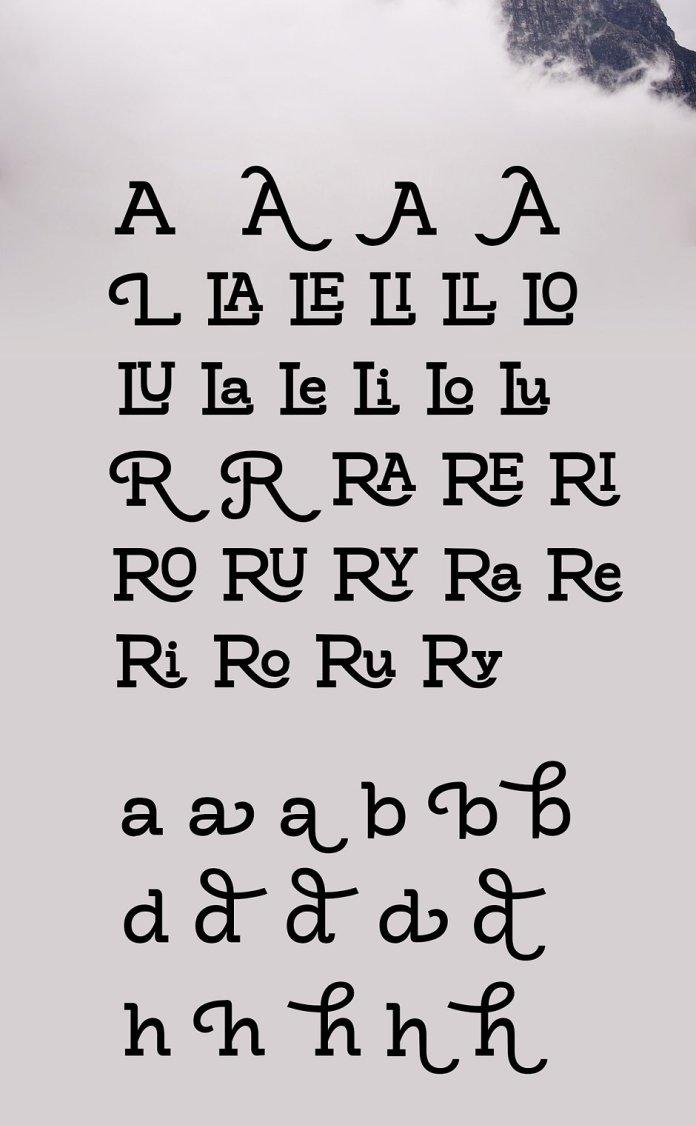 Brook Typeface