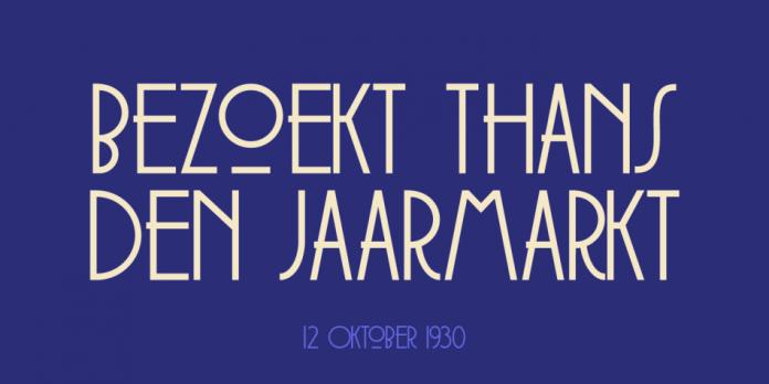 Soerabaja Typeface