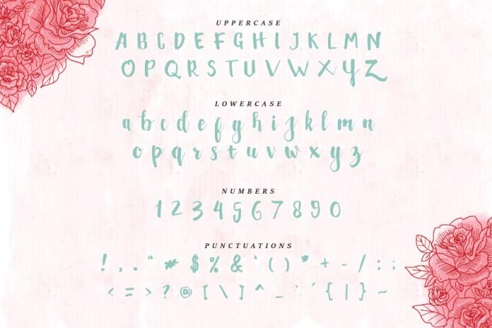 Peudada Script Font