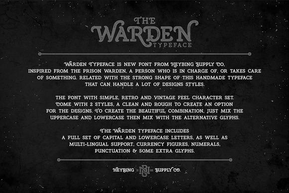 Warden Typeface