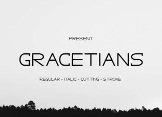 Gracetians Typeface