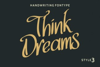 ThinkDreams Script Font